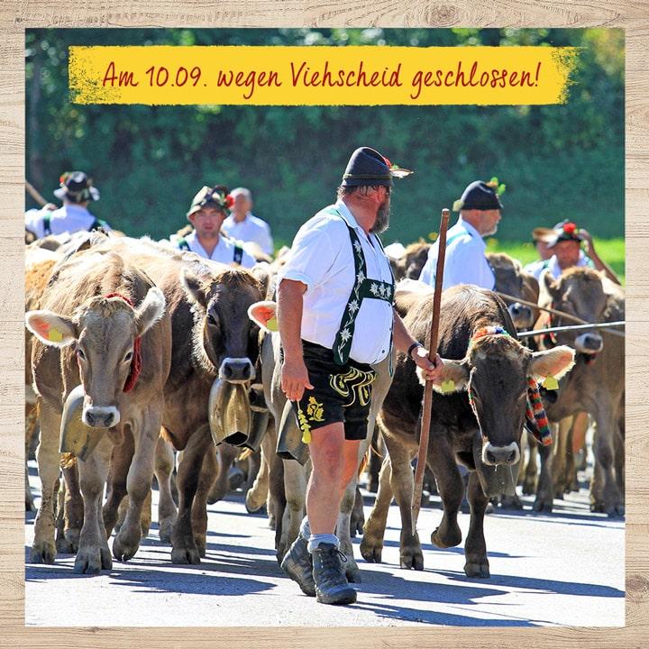 Viehscheid-Betriebsurlaub