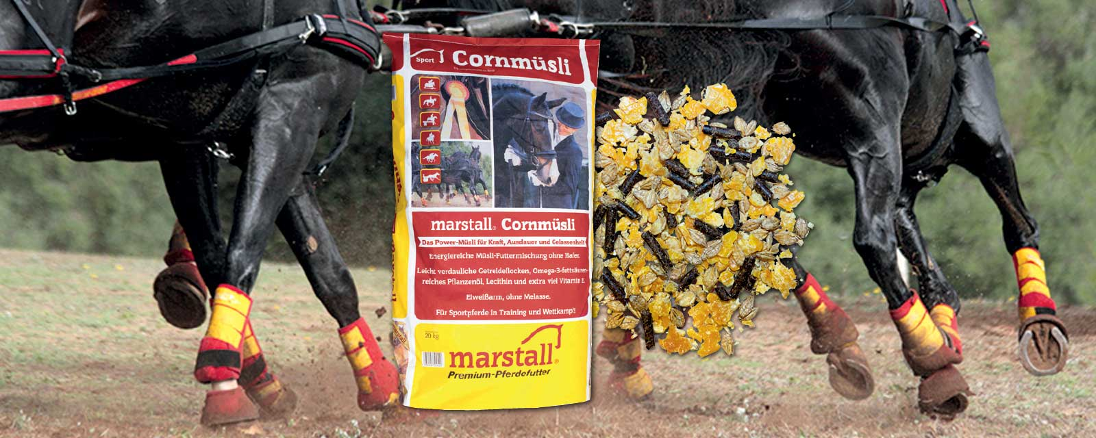 marstall Sport-Linie Cornmüsli